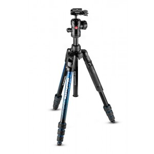 Manfrotto BeFree Advance ALU TWT stojalo moder - MKBFRTA4BL-BH (z glavo RC2 Quick release,max 8 kg, torba)