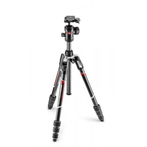 Manfrotto BeFree Advance Karbon TWT stojalo ČRN - MKBFRTC4-BH (z glavo RC2 Quick release, max 8 kg, torba)