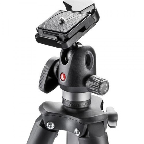 Manfrotto COMPACT ADVANCED STOJALO ČRN - MKCOMPACADVBH (krogljična glava-hitro menjajoči adapter,torba,)
