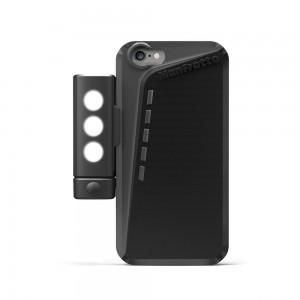 Manfrotto KLYP zaščita za iPHONE 6 črn - MKLKLYP6 (+ SMT LED LUČKA + podstavek)