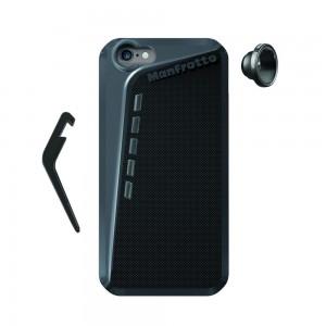 Manfrotto KLYP zaščita za iPHONE 6 črn - MKOKLYP6-F (+ podstavek + Fisheye objektiv)