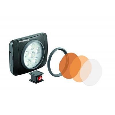 Manfrotto Lumimuse 6 LED light - MLUMIEART-BK (440lux-1m, CRI 92, 5600K, 3 stop. regulacija)