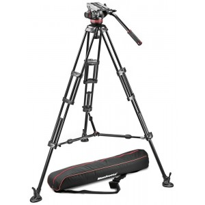 Manfrotto 502A video glava + - MVH502A,546BK (546B Video PRO stojalo + torba MBAG100PN)