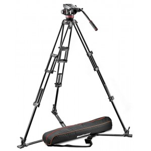 Manfrotto 502A video glava + - MVH502A,546GB (546GB Video PRO stojalo + torba MBAG100PN)
