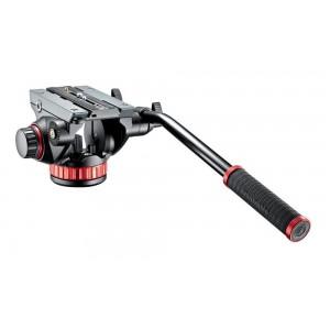 Manfrotto 502AH PRO VIDEO GLAVA - MVH502AH (ravna baza, max.nosilnost:7kg, teža: 1,6kg)