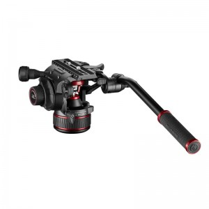 Manfrotto NitroTech 608 FLUID VIDEO GLAVA - MVH608AH (ravna baza,max.nosilnost:8kg,)