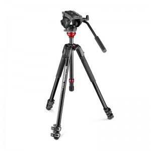 Manfrotto single legs ALU stojalo 190XV, - MVK500190XV (MVH500A Video glava)