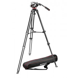 Manfrotto 502A video glava + - MVK502AM-1 (MVT502AM Video stojalo + torba)