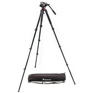Manfrotto 502 ALU single leg VIDEO sys - MVK502AQ (MVH502AH Video glava+MVT535AQ+torba,)