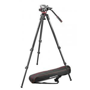 Manfrotto 502A video glava + - MVK502C-1 (535 Karbon Video stojalo + torba)