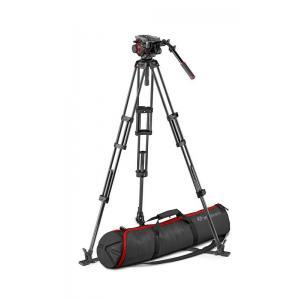 Manfrotto CF twin legs GS stojalo + 504 video glav - MVK504TWINGC ()