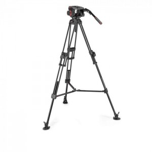Manfrotto 509 Pro video glava + alu Twin Fast 2v1 - MVK509TWINFA (stojalom 645)