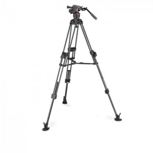 Manfrotto NitroTech 608 + CF Fast Twin legs MS - MVK608TWINFC ()