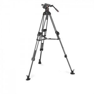 Manfrotto NitroTech 612 + CF Fast Twin legs MS - MVK612TWINFC ()