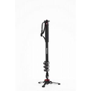 Manfrotto Video Monopod s fluidnim podstavkom - MVMXPROA4 (max.nos.:8kg,teža 1,2kg, max. višina 192cm,)