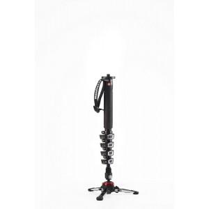 Manfrotto Video Monopod s fluidnim podstavkom - MVMXPROA5 (max.nos.:6kg,teža 1,06kg, max. višina 153cm,)