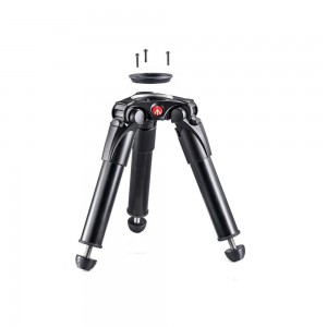 Manfrotto 535 ALU single leg HI HAT - MVT535HH (75/60mm half ball,)