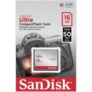 SanDisk Ultra CF 16GB 50MB/s - SANDISK738500 ()