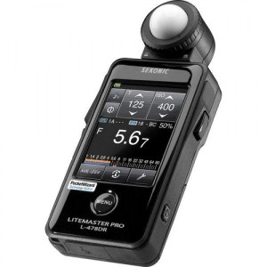SEKONIC L-478DR Litemaster Pro - SEKONIC643622 (PocketWizard / ControlTL)