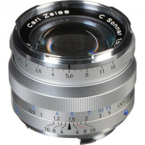 Zeiss C Sonnar T* 1,5/50 ZM srebrn - ZEISS1407-067 (komp. Leica-M bajonet)