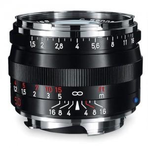 Zeiss C Sonnar T* 1,5/50 ZM črn - ZEISS1407-218 (komp. Leica-M bajonet)