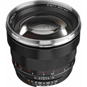 Zeiss Planar T* 1,4/85 ZF.2 Nikon CPU - ZEISS1767-826 (priložena sončna zaslonka)