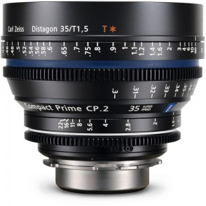 Carl Zeiss Compact Prime CP.2 1,5/35 - ZEISS1916-641 (EF mount/metric - SUPER SPEED)
