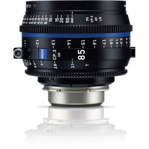 Carl Zeiss Compact Prime CP.3 2,1/85 - ZEISS2177-953 (PL mount-metrik, XD eXtended Data)
