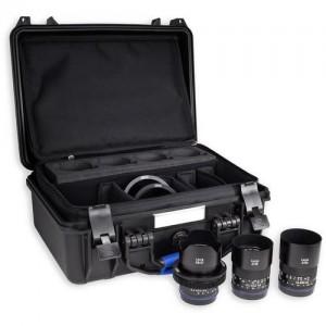Zeiss Loxia 2.8/21, 2.4/25, 2/35, 2/50, 2.4/85 - ZEISS2182-523 (Loxia transport kovček, Lens gear Mini-5x,)