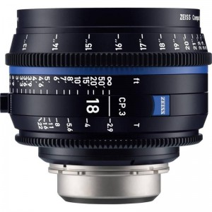 Carl Zeiss Compact Prime CP.3 2,9/18 - ZEISS2186-674 (PL mount-metrik, XD eXtended Data)