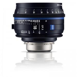 Carl Zeiss Compact Prime CP.3 2,9/18 - ZEISS2186-837 (MFT mount-metrik,)