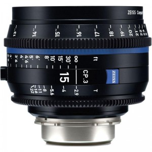 Carl Zeiss Compact Prime CP.3 2,9/15 - ZEISS2189-367 (PL mount-metrik, XD eXtended Data)