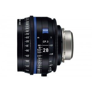 Carl Zeiss Compact Prime CP.3 2,1/28 - ZEISS2193-342 (MFT mount-metrik,)