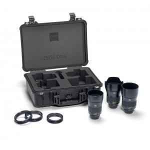 Zeiss Otus 1,4/28 + 1,4/55 + 1,4/85 set ZE Canon - ZEISS2270-684 (Otus transport kovček, Lens gear M-1x, L-2x)