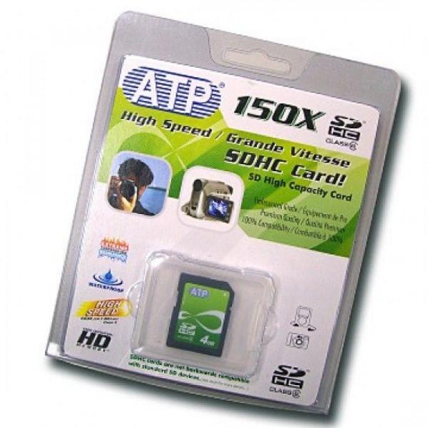 ATP SDHC 4GB 150x MLC - ATP_4GSD - ()