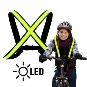 EasyPix StreetGlow S/M svetleče naramnice - EASY65000 ()
