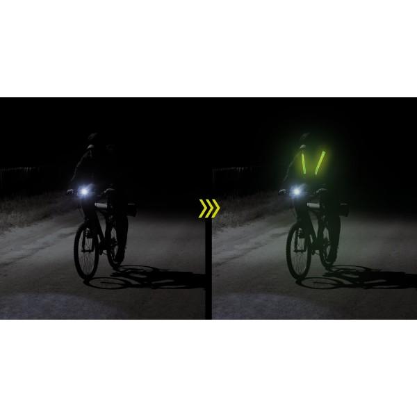 EasyPix StreetGlow L/XL svetleče naramnice - EASY65001 ()