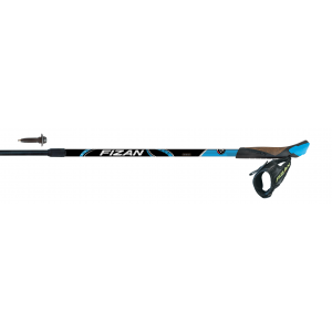 Fizan Nordic Walking palici NW SPEED modra - FIZAN197524 (7075 ALU, 2 delna, 75 do 125cm, Lock sistem:Flexy,)