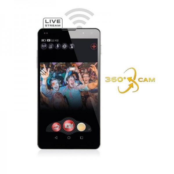 GoXtreme Action kamera Live 360* - GOXTREME20140 (kamera za LIVE Stream na YouTube in Facebook)