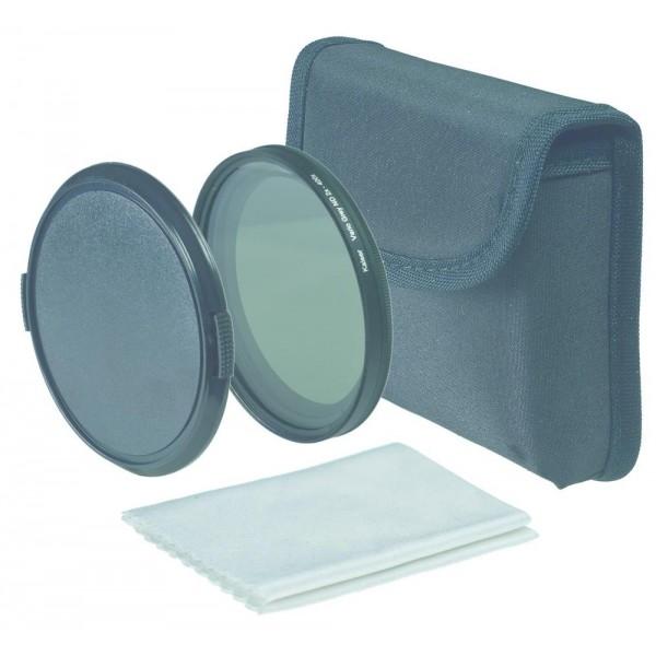 Kaiser Vario Siv filter ND2x do ND400x 49mm - KAISER15449 (torbica + micro fibre čistilna krpica,)