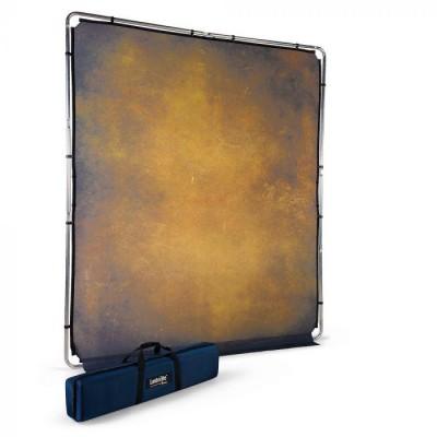 Lastolite EzyFrame Vintage Zložljivo ozadje - LASTOLB7926 (Tobacco, zložljiv ALU okvir, 2x2,3m)