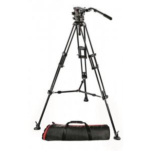 Manfrotto 526 Pro Fluid video glava + - MAN526,545BK1 (stojalo 545B + MAG100PN)