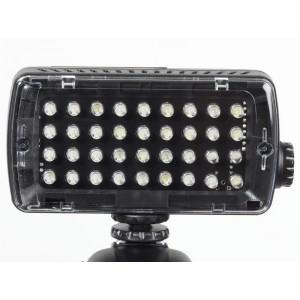 Manfrotto ML360H Midi Hybrid LED light 36 LED, - MANML360H - (4xAAA baterije, dimer 0-100%,)
