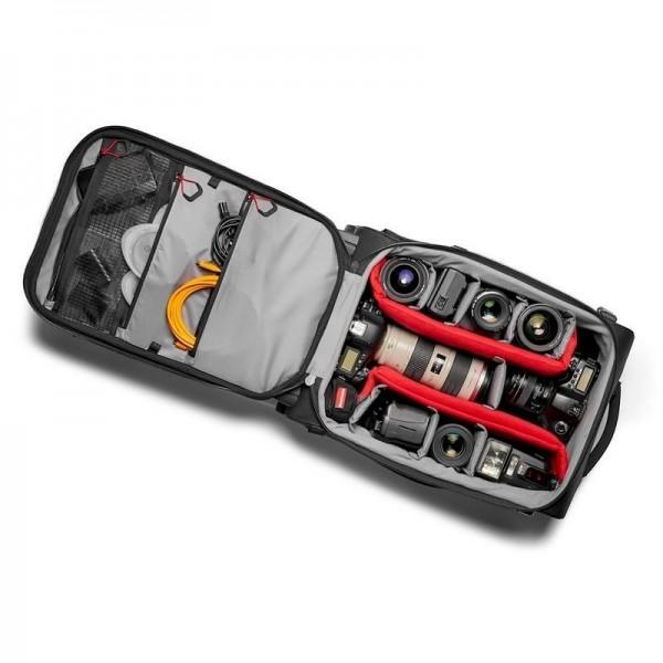 Manfrotto Pro Light Reloader Hybrid-55 potovalni k - MB-PL-RL-H55 (koleščki za 2 DSLR fotoaparata/kamero + 4/5 objekt)