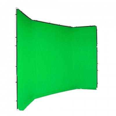 Manfrotto Chroma Key FX ozadje zelen - MLBG4301CG (tekstilno ozadje 4x2,9m)
